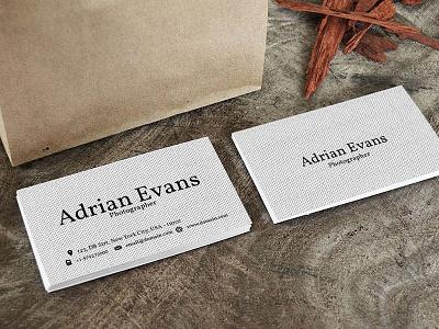 Free Polka Handmade Business Card modern individual horizontal design creative corporate clean card call business card business