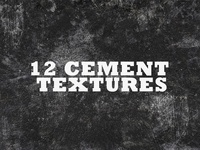 12 Free Distressed Cement Textures