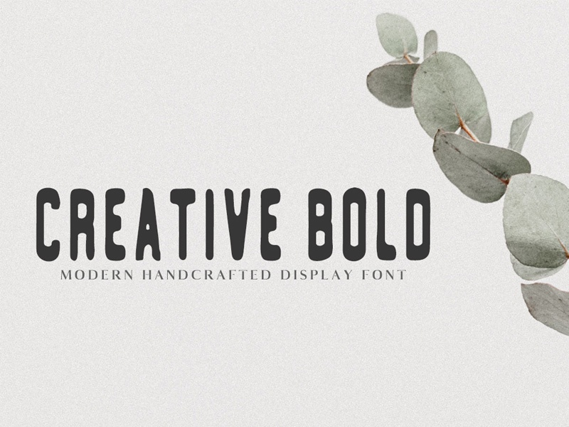 Free Creative Bold 2 Weights Typeface typography trendy font modern font handwritten handlettering dynamic letters calligraphy alphabet