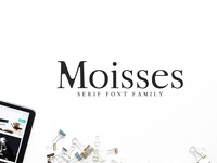 Moisses Serif 3 Fonts Family Pack