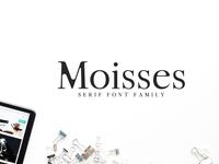 Moisses Serif 3 Fonts Family Pack