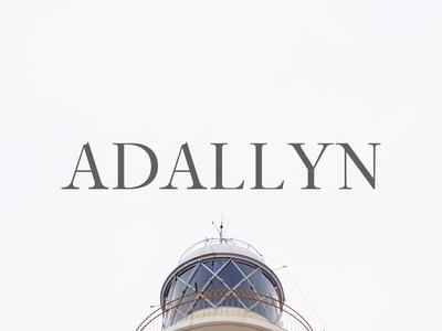 Free Adallyn Serif Font