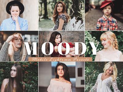Free Moody Mobile Lightroom Presets