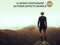 15 Free Sport Photoshop Actions Effects