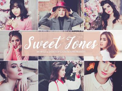 Sweet Tones Free Mobile & Desktop Lightroom Presets