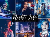 Night Life Free Mobile & Desktop Lightroom Preset