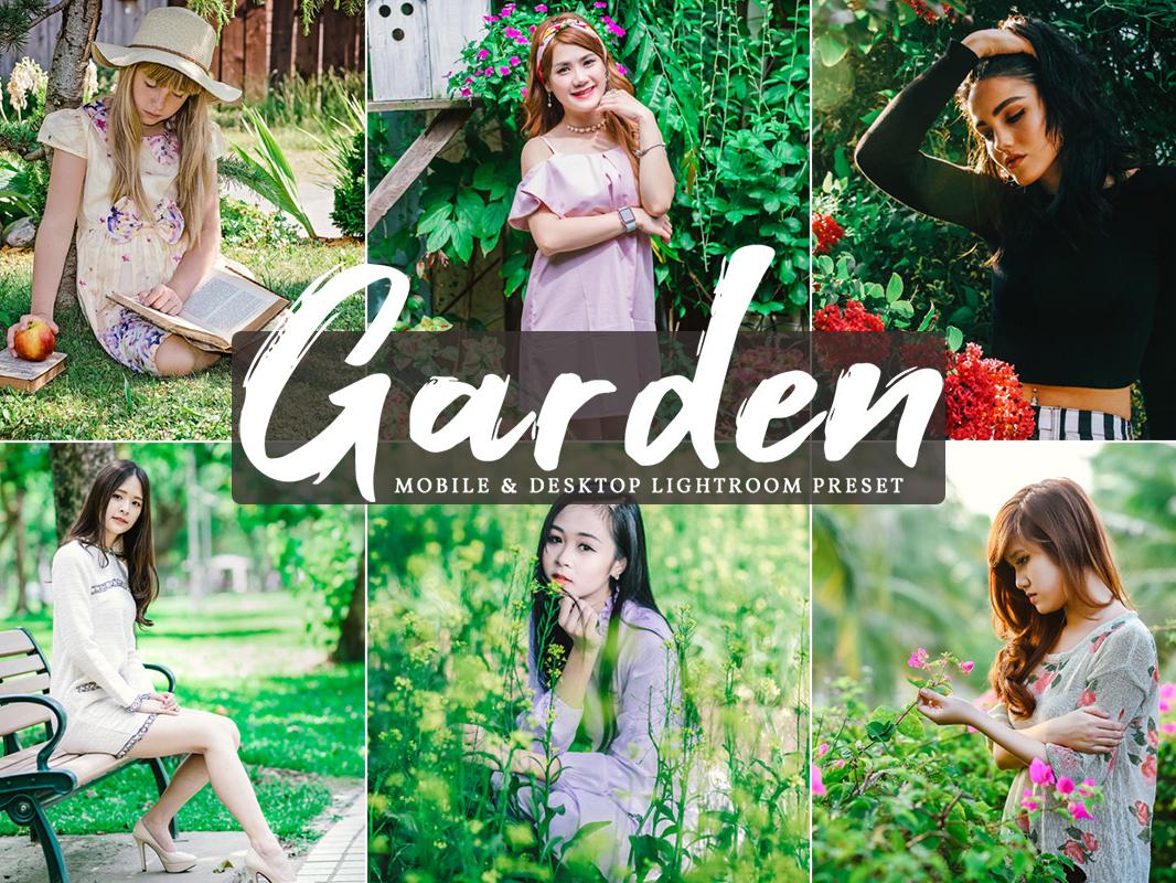 Free Garden Mobile Desktop Lightroom Presets by Faraz Ahmad