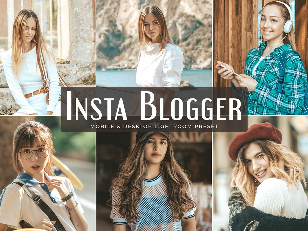 Insta Blogger Mobile Desktop Lightroom Presets Free Download