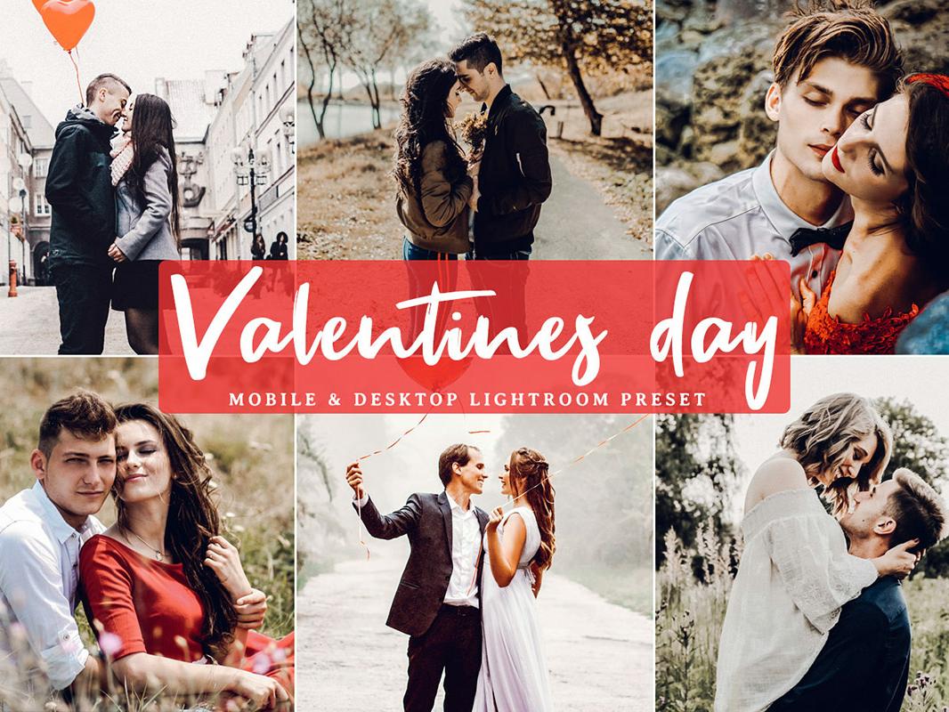 Free Valentines Day Mobile and Desktop Lightroom Preset by