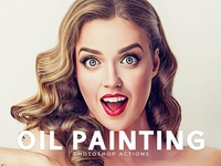 Oil Painting Photoshop Actions Cover