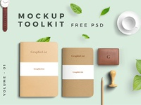 Free Mockup Toolkit Vol. 01