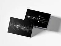 Free elegant business card template