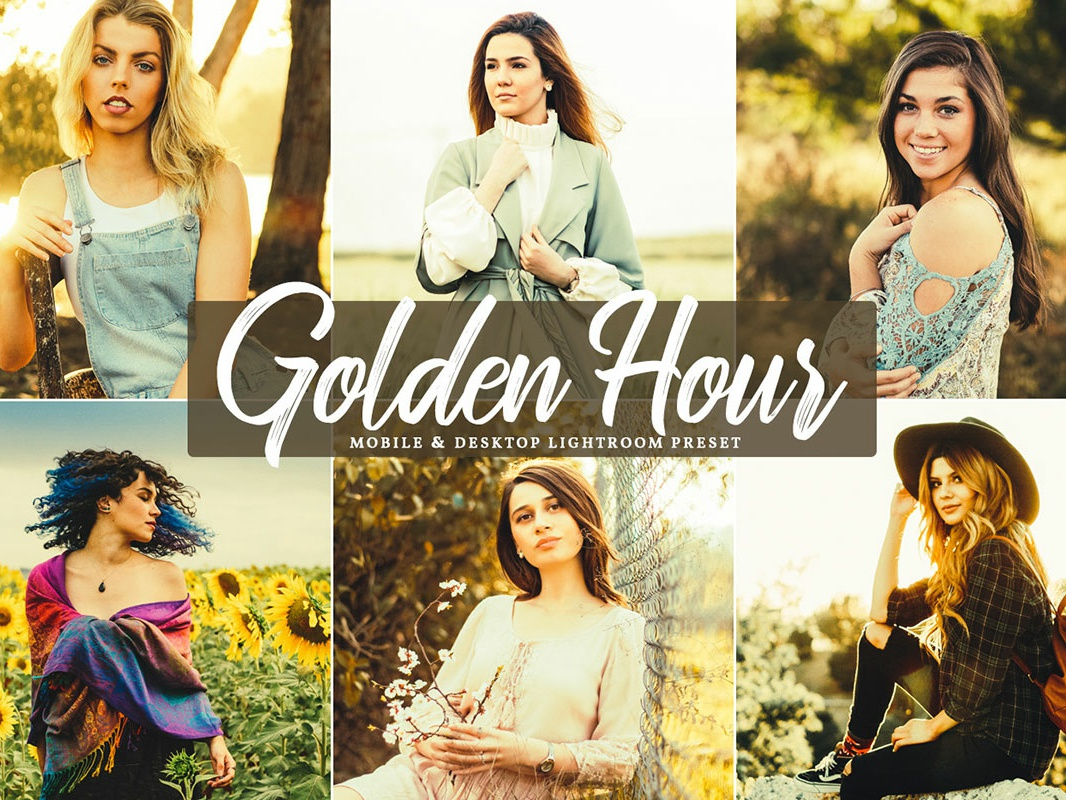 Free Golden Hour Mobile & Desktop Lightroom Preset by Faraz