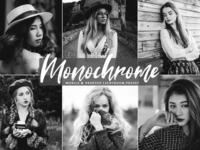 Monochrome Mobile And Desktop Free Lightroom Presets