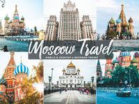 Free moscow travel mobile desktop lightroom presets cover