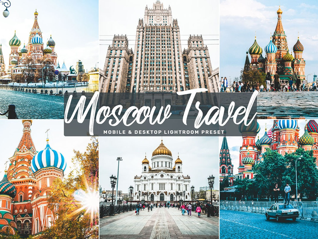 Free Moscow Travel Mobile & Desktop Lightroom Preset pro premium portrait photography painting paint objects noise nature natural modeling magazine intense high fixing correction contrast colorful clean classy