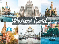 Free Moscow Travel Mobile & Desktop Lightroom Preset