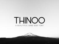 Free Thinoo Sans Serif Font Family