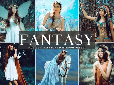 Free Fantasy Mobile & Desktop Lightroom Preset