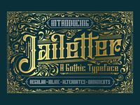 Free Jailetter Blackletter Font