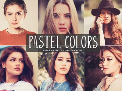 Free Pastel Colors Mobile Desktop Lightroom Presets