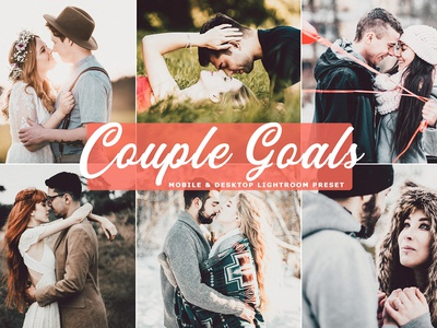 Free Couple Goals Mobile & Desktop Lightroom Preset
