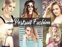 Free Portrait Fashion Mobile and Desktop Lightroom Preset