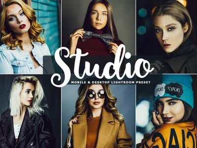 Studio Mobile & Desktop Lightroom Preset