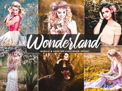 Wonderland Mobile & Desktop Free Lightroom Preset