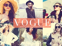 Free Vogue Mobile Desktop Lightroom Preset