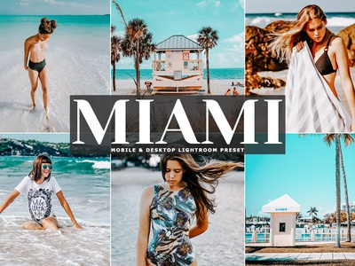 Miami Mobile & Desktop Free Lightroom Preset