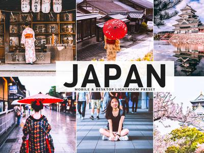 Free Japan Mobile Desktop Lightroom Preset