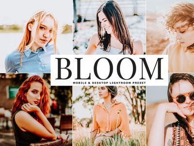 Bloom Mobile & Desktop Free Lightroom Preset