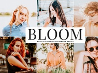 Bloom Mobile & Desktop Free Lightroom Preset
