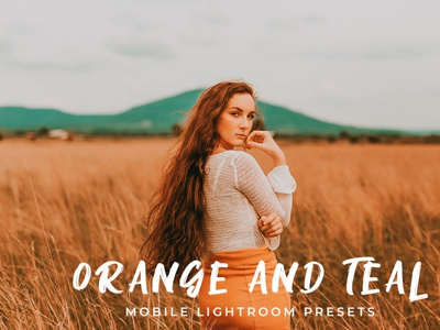 Teal and Orange Mobile Lightroom Presets
