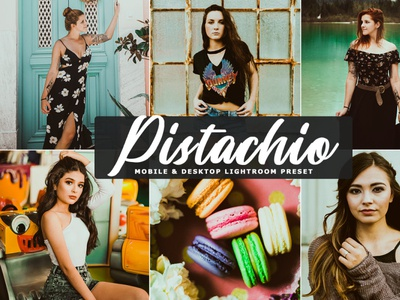 Pistachio Desktop & Mobile Free Lightroom Preset