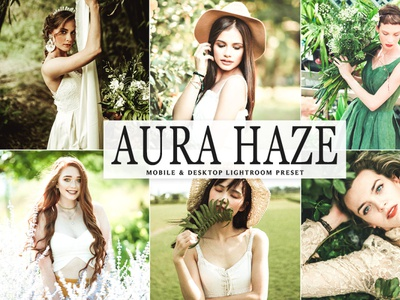 Free Aura Haze Mobile Desktop Lightroom Preset