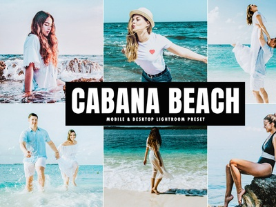 Free Cabana Beach Mobile & Desktop Lightroom Preset