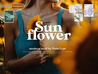 Free Made Sunflower Serif Font