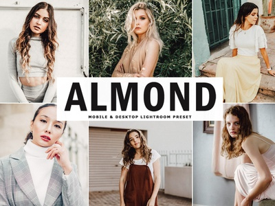 Free Almond Mobile & Desktop Lightroom Preset