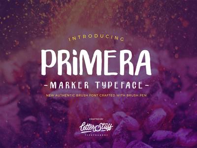 Free Primera Brush Font