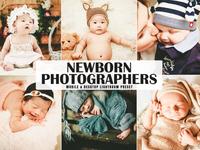 Free Newborn Photographers Mobile & Desktop Lightroom Preset
