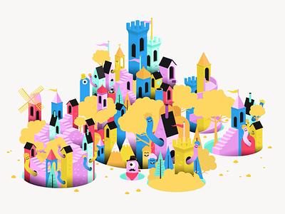 Inter Arma manifesto artwork animation graphic motion illustration illustrator design flat artwork vector