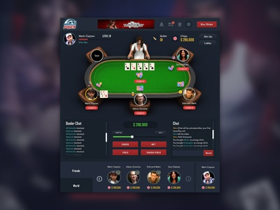 Online Poker Game By Owais Akbar Ali For Cubix On Dribbble