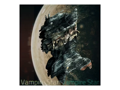 Vampire Star star vampire spacebubble sound ambient arp render mercury applepencil bust sculpture design after effects cinema 4d c4d texture photorealistic motiongraphics illustration 3d