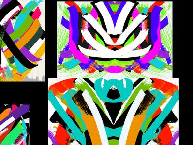 Color Dischord Series (Acrylic)