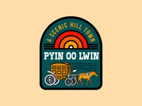 Pyi Oo Lwin myanmar graphic design illustration mmbadgedesign badge design