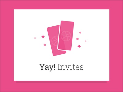 Yay! 2 Dribbble Invites to giveaway invites giveaway dribbble invitation 2 invites dribbble invites dribbble invite invites dribbble