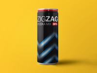Zigzag vodka mix new can