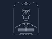 Monoline Skull King